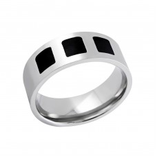 Band - 316L Surgical Grade Stainless Steel Steel Rings for Men A4S6201