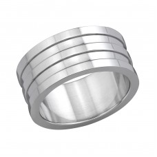 Band - 316L Surgical Grade Stainless Steel Steel Rings for Men A4S6205