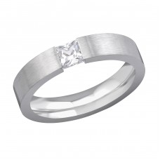 Band - 316L Surgical Grade Stainless Steel Steel Rings for Men A4S6614