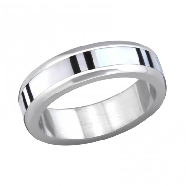 Band - 316L Surgical Grade Stainless Steel Steel Rings A4S7588