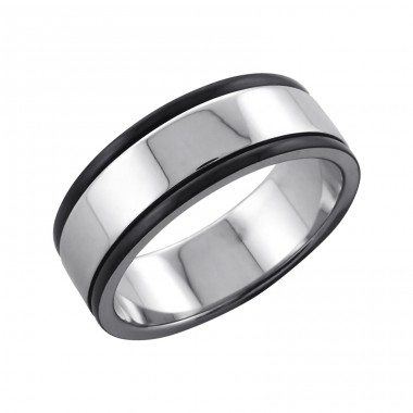 Band - 316L Surgical Grade Stainless Steel Steel Rings A4S7590