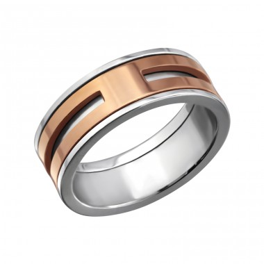 Band - 316L Surgical Grade Stainless Steel Steel Rings A4S7724