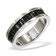 Band - 316L Surgical Grade Stainless Steel Steel Rings A4S7726