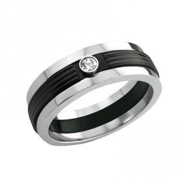 Band - 316L Surgical Grade Stainless Steel Steel Rings A4S7753