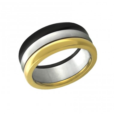 Band - 316L Surgical Grade Stainless Steel Steel Rings A4S7759