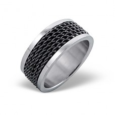 Band - 316L Surgical Grade Stainless Steel Steel Rings A4S1226